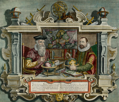 Creators - Mercator and Hondius