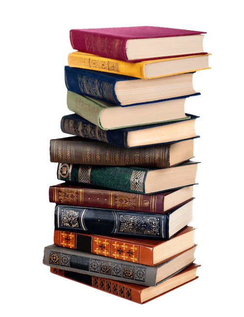 History Archive - Stack of Books
