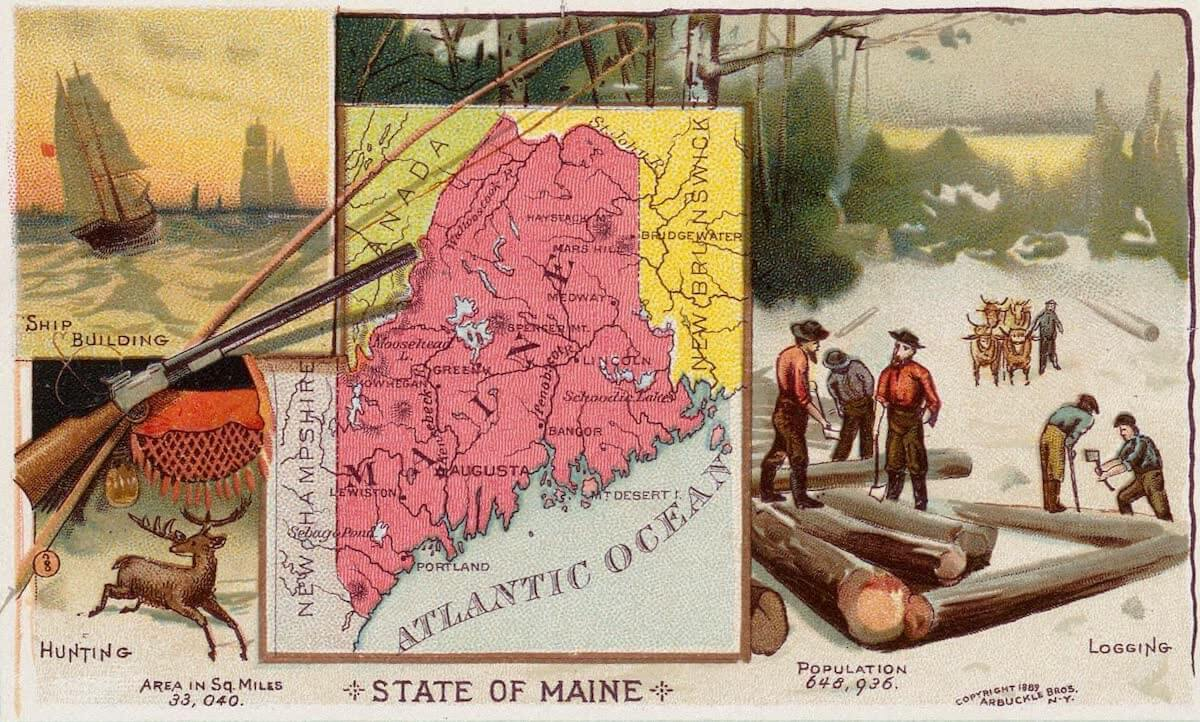 History Archive - Maine Collection