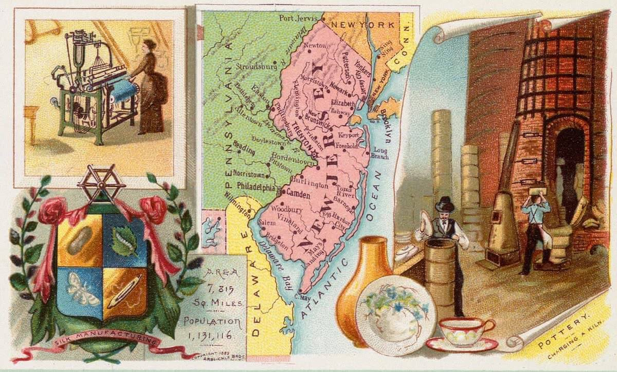 History Archive - New Jersey Collection