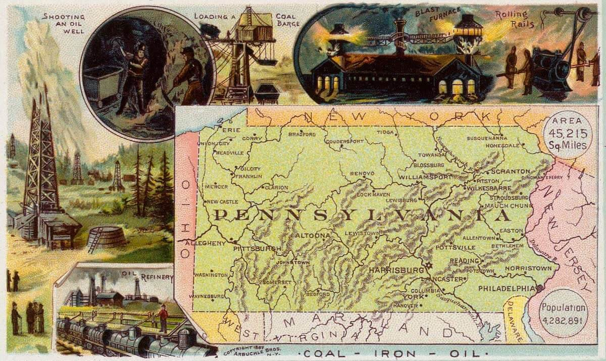 History Archive - Pennsylvania Collection